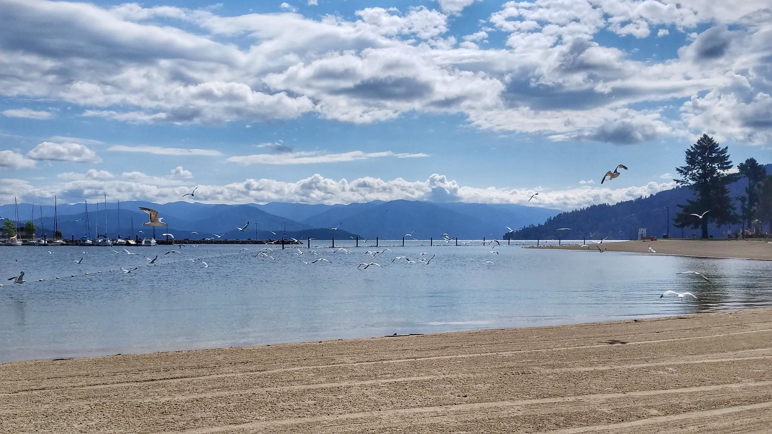 City Beach, Sandpoint, Idaho