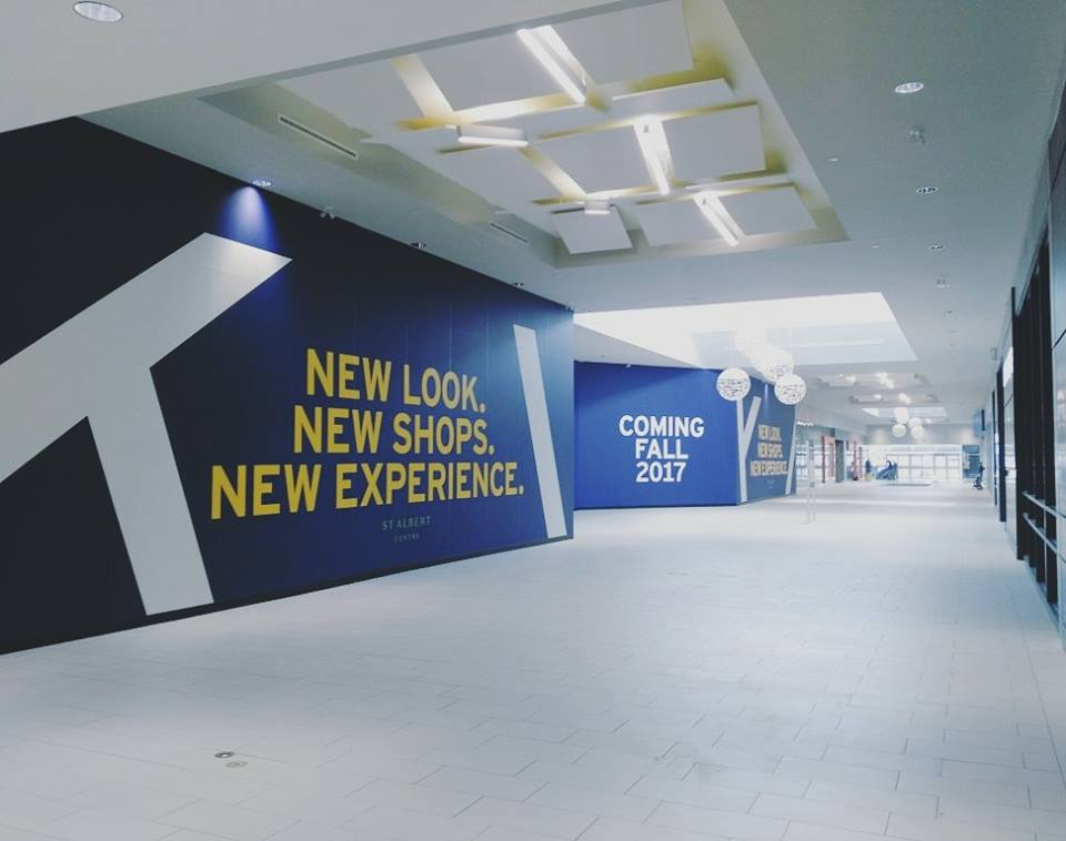 New entrance to St. Albert Centre
