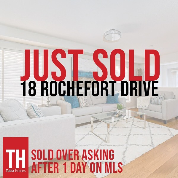 This one sold quickly with a solid coming soon marketing strategy, in a great family friendly neighbourhood. Congratulations to our clients who are relocating to Ottawa.  To learn more about the Tobia Homes marketing plan contact us or click the bio for our latest listings.