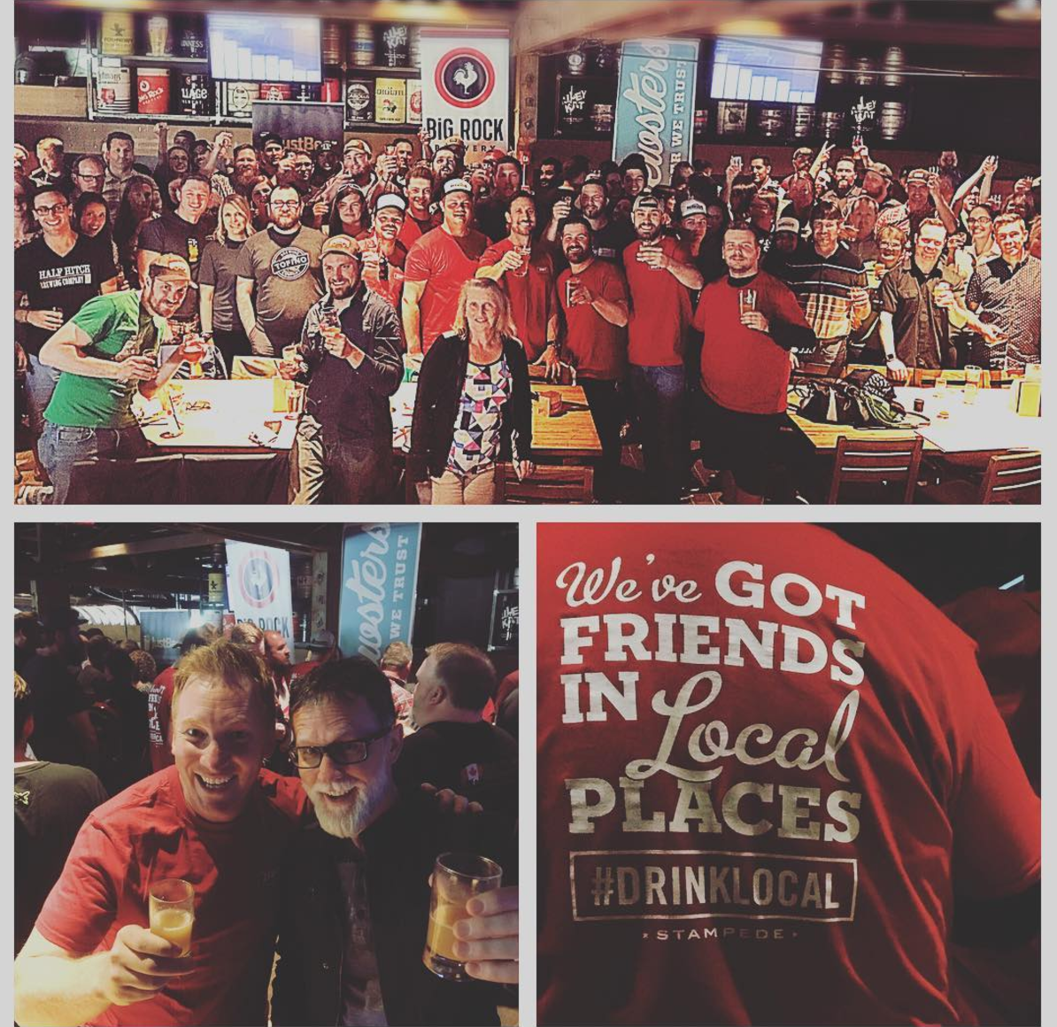 3,100+ PEOPLE - APPARENTLY CALGARIAN'S LOVE CRAFT BEER!THROUGHOUT THE WEEK OVER 3,100 PEOPLE VISITED A LOCAL CRAFT BREWERY, RESTAURANT, RETAILER OR ATTENDED ONE OF THE WEEK'S SPECIAL EVENTS.THANKS FOR JOINING US, CALGARY!