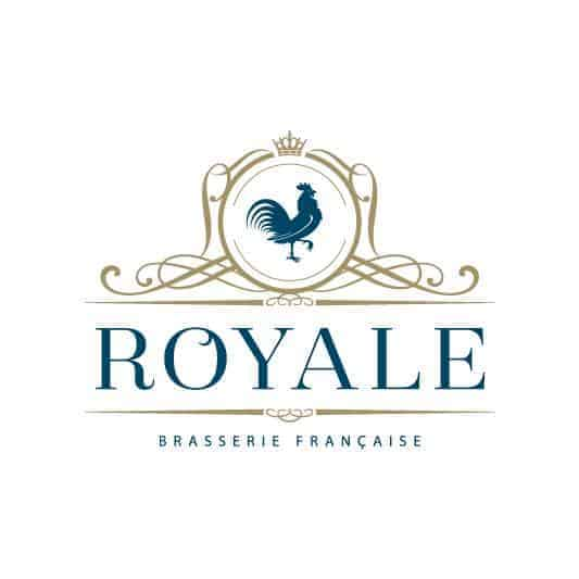 ROYALE BRASSERIE   __________  Stop by for lunch AND dinner…  The Royale Treatment  Lunch  Menu includes 3 delicious courses for  only $25 :   Starter : Village Blond Ale & Aged Cheddar Soup with Herbed Croutons   Main : Halibut Fish & Chips, Ale Beer Batter, Hand Cut Chips, Gribiche   Dessert : Vanilla Cookie, Lemon & Wildrose Wraspberry Ale Cream  For  Dinner , enjoy a grilled AAA Alberta Striploin, including mustard roasted new potatoes, today's vegetables, and Wildrose Wraspberry Ale hopped up Jus for  only $42 !   In Support of : The Alex Community Food Centre