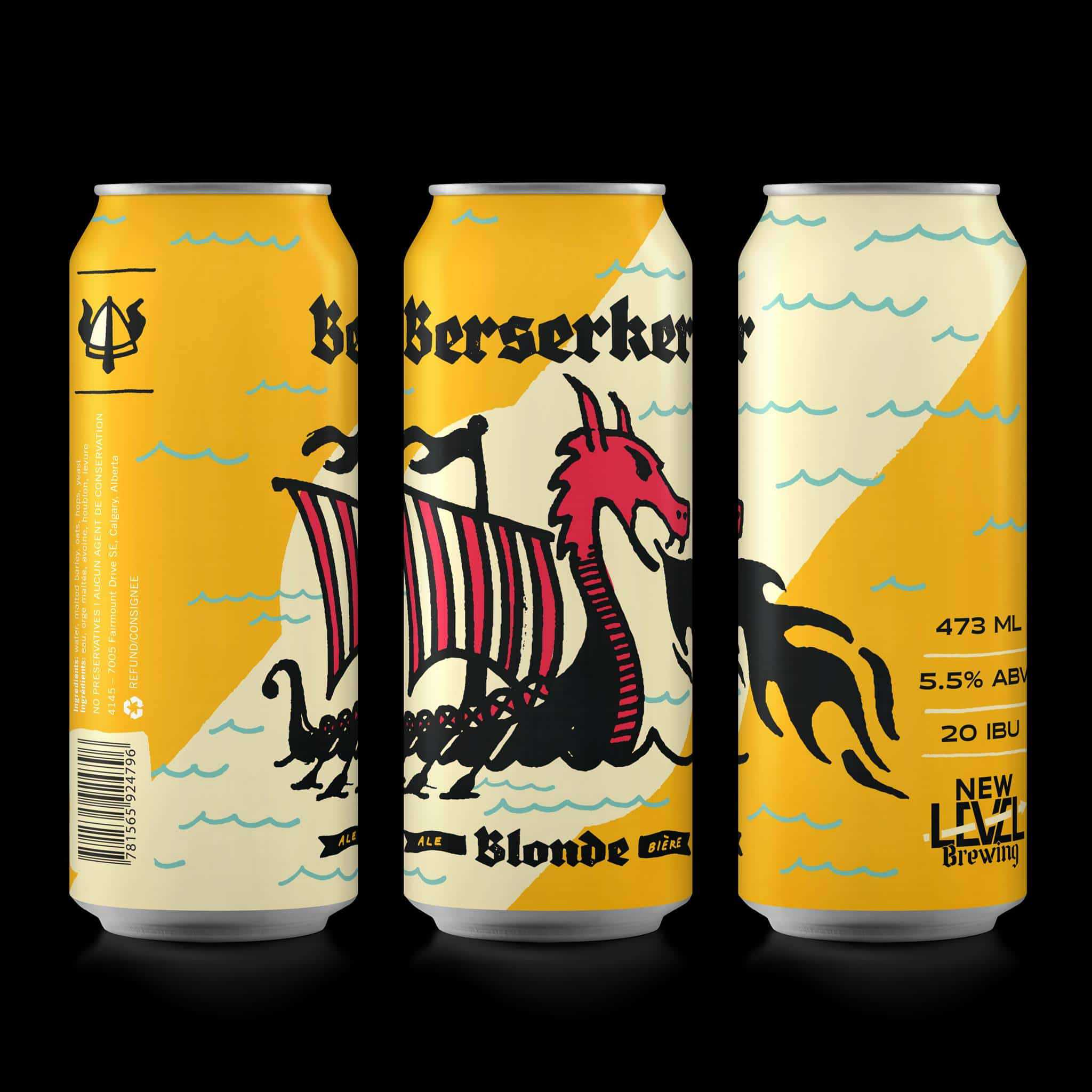 New Level Brewing  Berserker Blonde