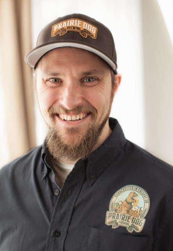 Founder & Head Brewer, Prairie Dog Brewing, Tyler Potter
