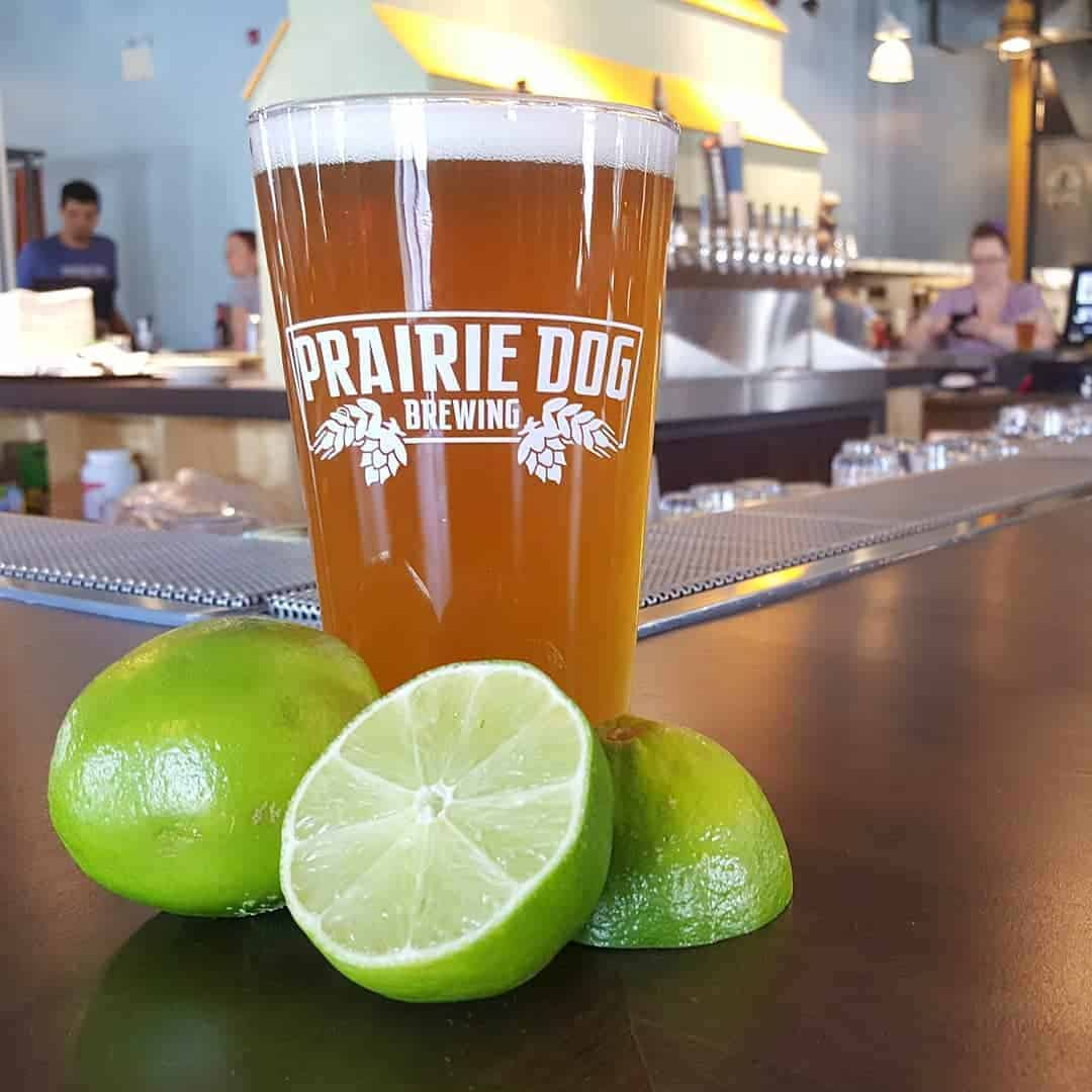 Prairie Dog  Ginger Lime Gose – SO GOOD!