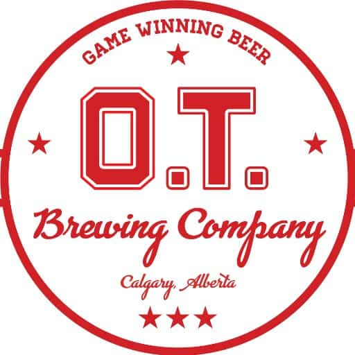 O.T BREWING CO.   __________  During YYCBeerWeek check out Calgary's COOLEST sports-themed brewery for special  $6 pints !   $1 from each pint sold throughout the week will go to support the  Shriners Children's Hospital .