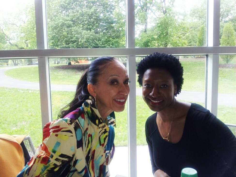 Luckett and Pat Cleveland, former supermodel and mentee of Naomi Sims, New York, May 2013. Courtesy of Paul von Ravenstein.