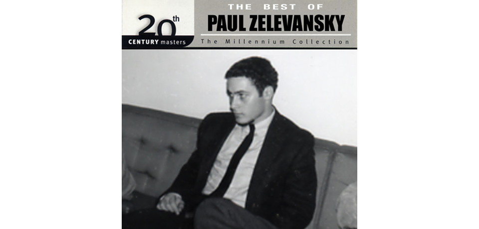 Image of the artist as a young man. Courtesy of Paul Zelevansky.