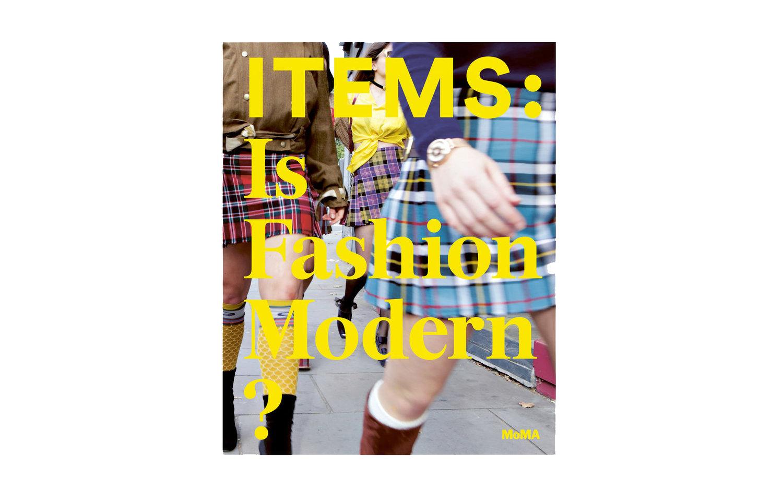 Items  catalog cover. Courtesy MoMA.