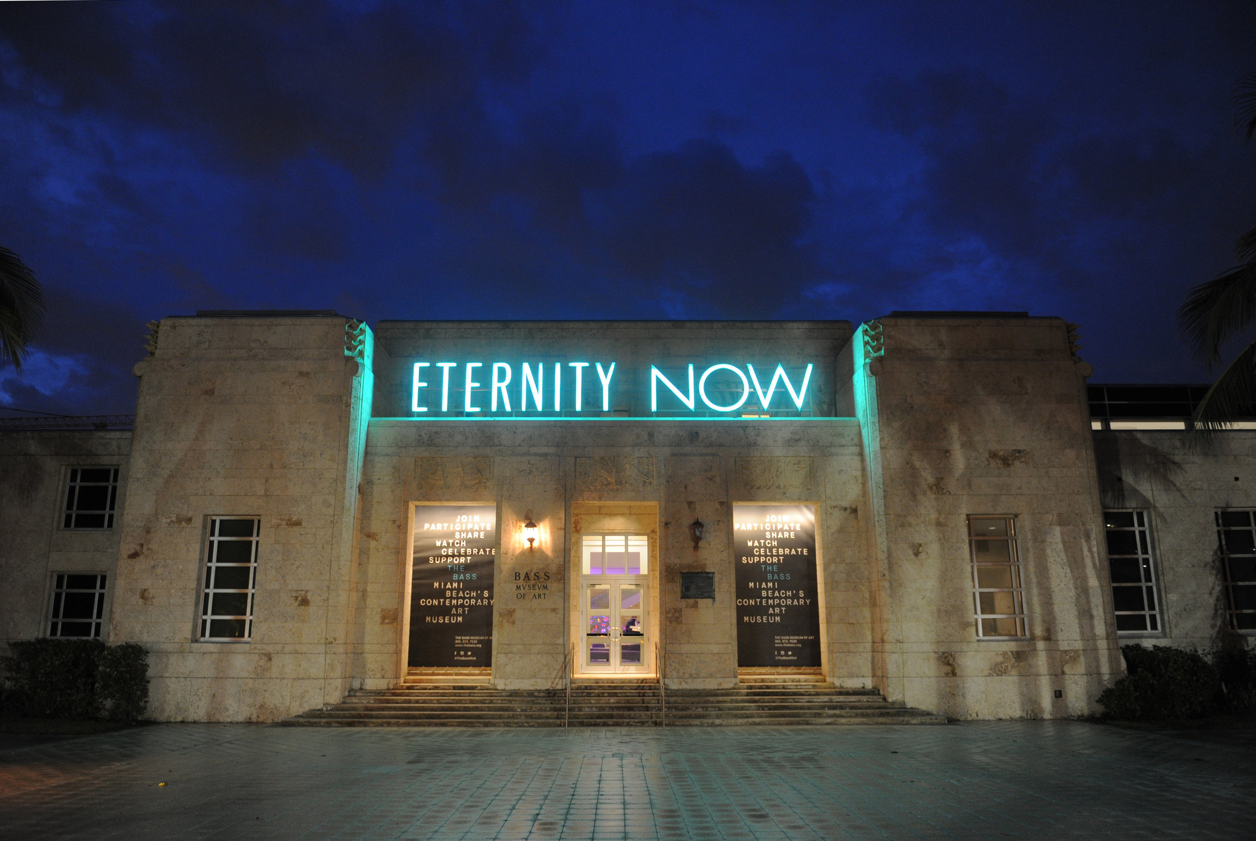 Sylvie Fleury,  Eternity Now , 2015. Courtesy of The Bass, Miami Beach. Photo © World Red Eye.