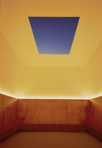 James Turrell,  Unseen Blue , 2002. Photo by Michael Olijynk. Courtesy the Mattress Factory Museum.