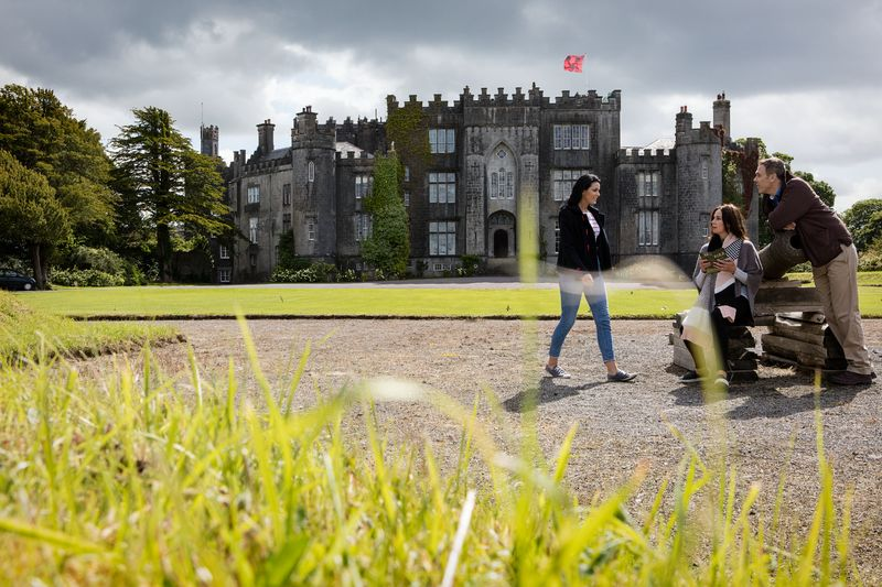 Birr Castle Grounds and Cannon Birr Castle.jpg