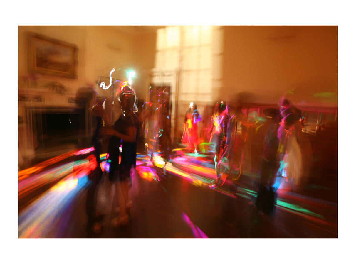 The Wedding Disco  (Oxfordshire, England, 2007) by Johnny Green (50 x 70cm)  Price: £375   Size: 19.7 H x 27.6 W in   This is the 1st of 12 Limited Edition C-type Lambda matt prints, unframed, but with an elegant off white mount which is signed and numbered by the artist.