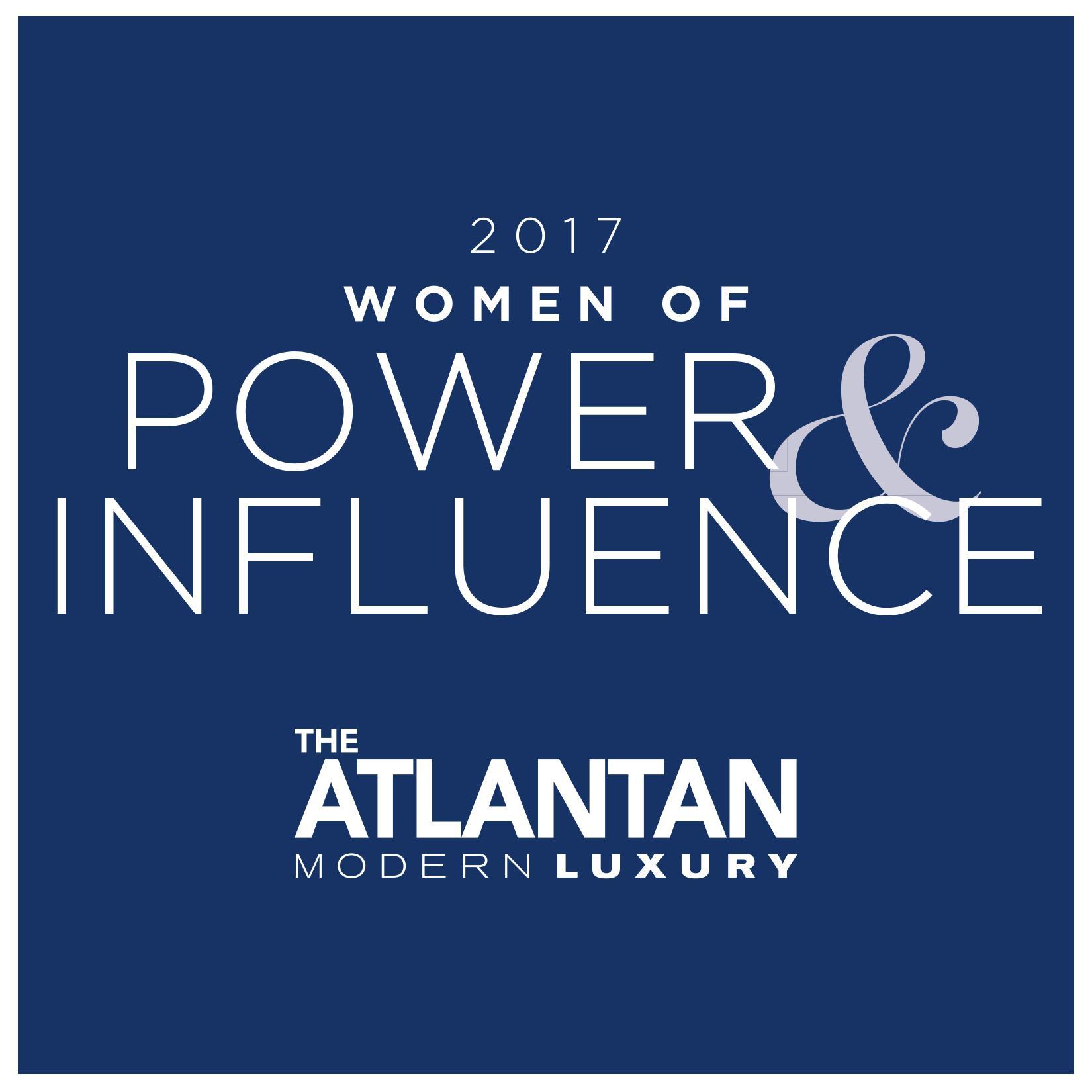 Atlantan Magazine Women of Power Influence