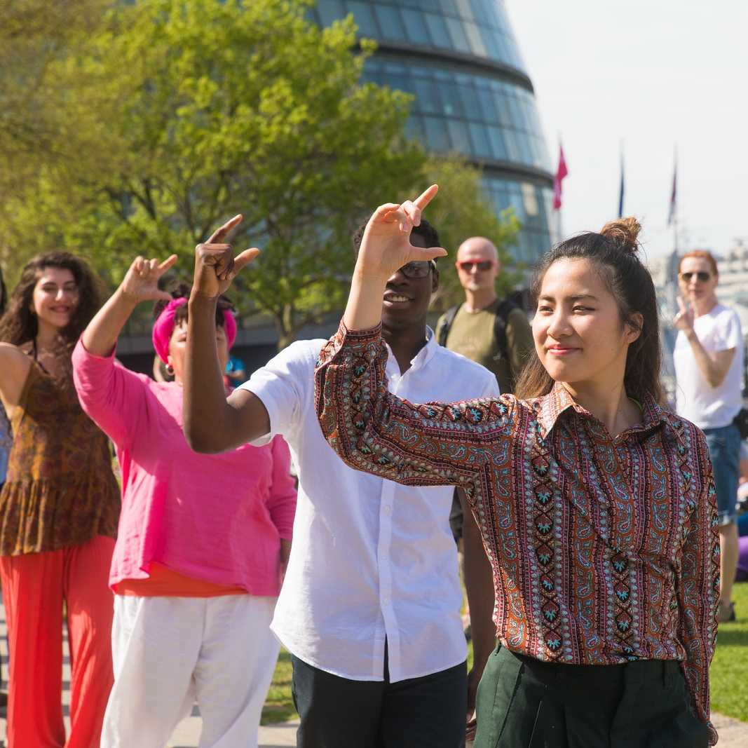 London Dances the Nelken Line - June 2018