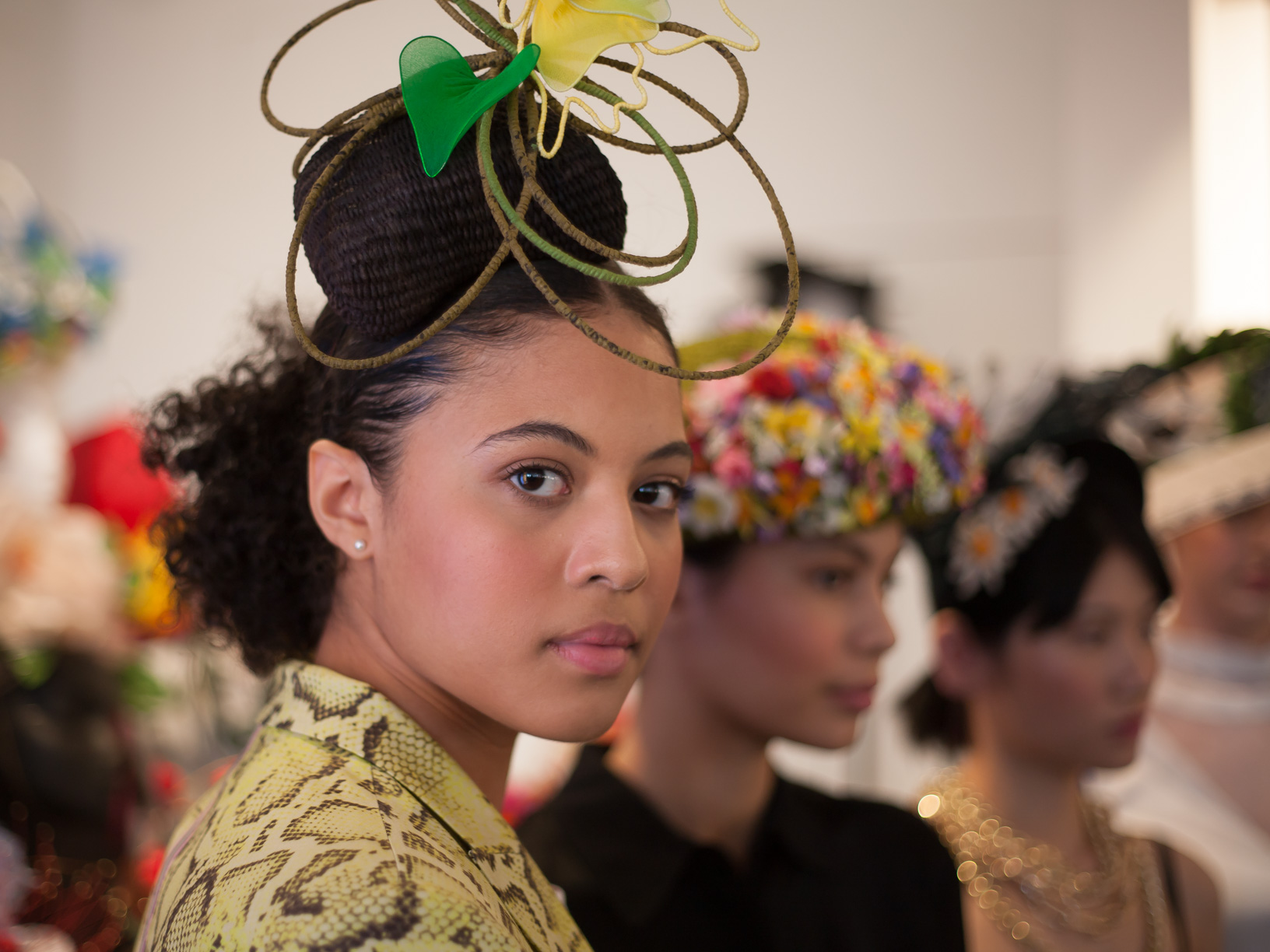 Hats made by milliners from around the world were shown at the X Terrace PINKO World Garden Hat Exhibition Press Preview earlier this month. Images from Dmi, Humble Magazine..jpg