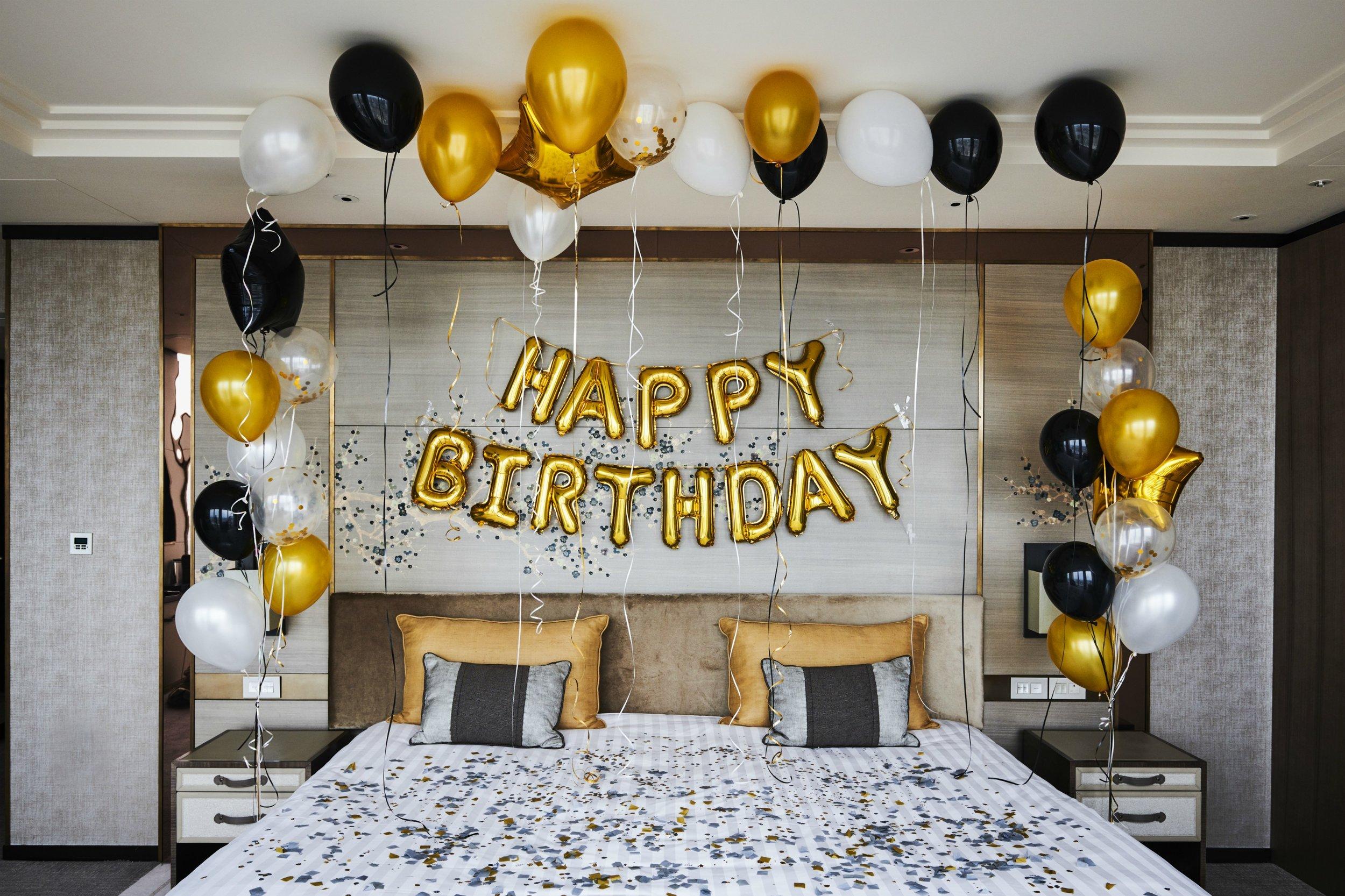 Shangri-La Hotel, At The Shard, London, Room Happy Birthday Celebrations.jpg