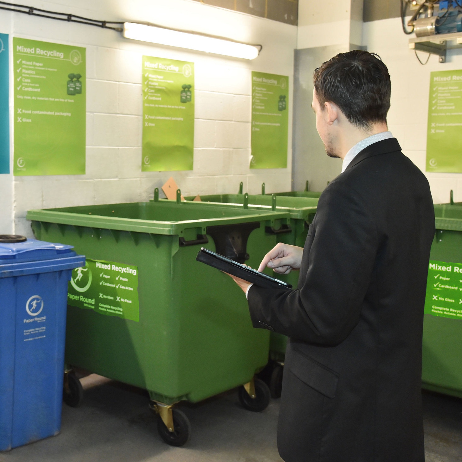 Waste and Recycling Audits - Experts will visit your premises to carry out a free, detailed audit of the waste generated, and produce a report to inform ways of cutting waste and increasing recycling rates.Find out more+