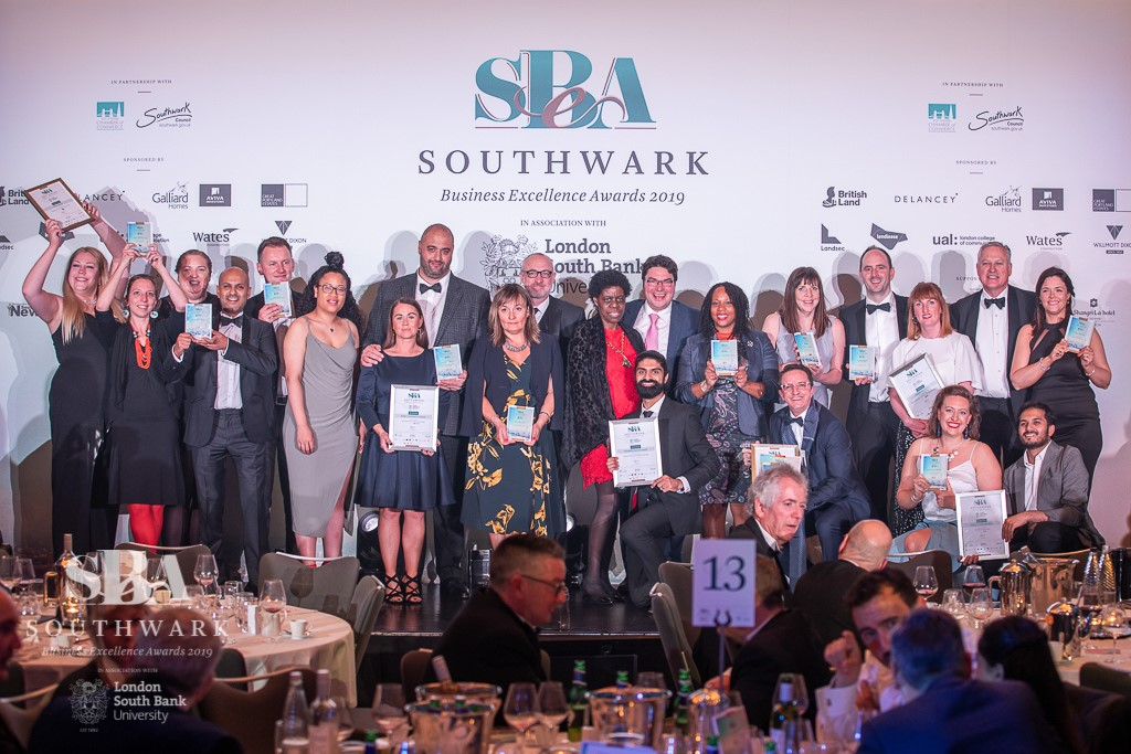 Southwark Business Excellence Award 2019 winners