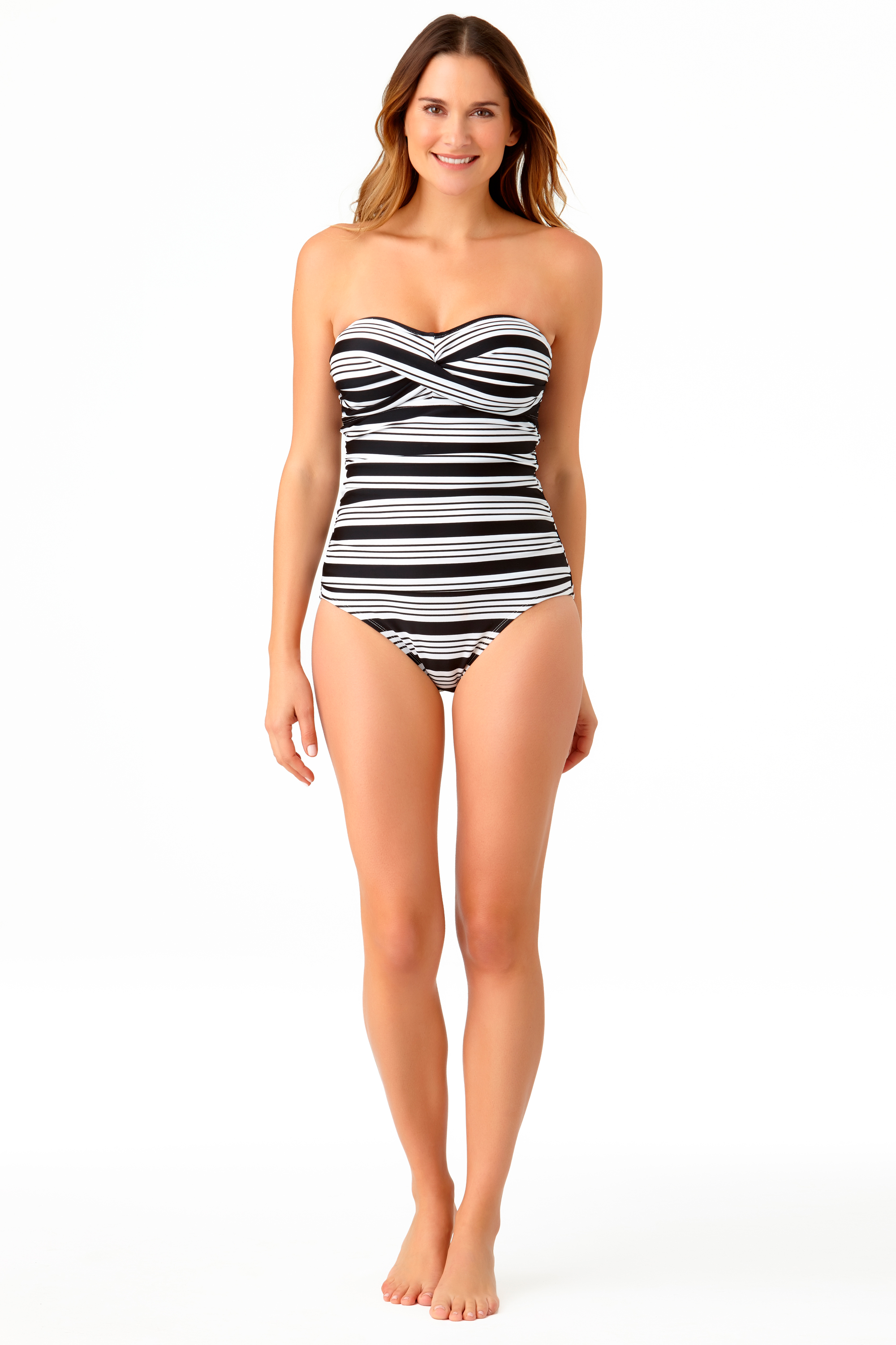 STYLE # CTL27101 - Melbourne Stripe One PieceSOLD OUT