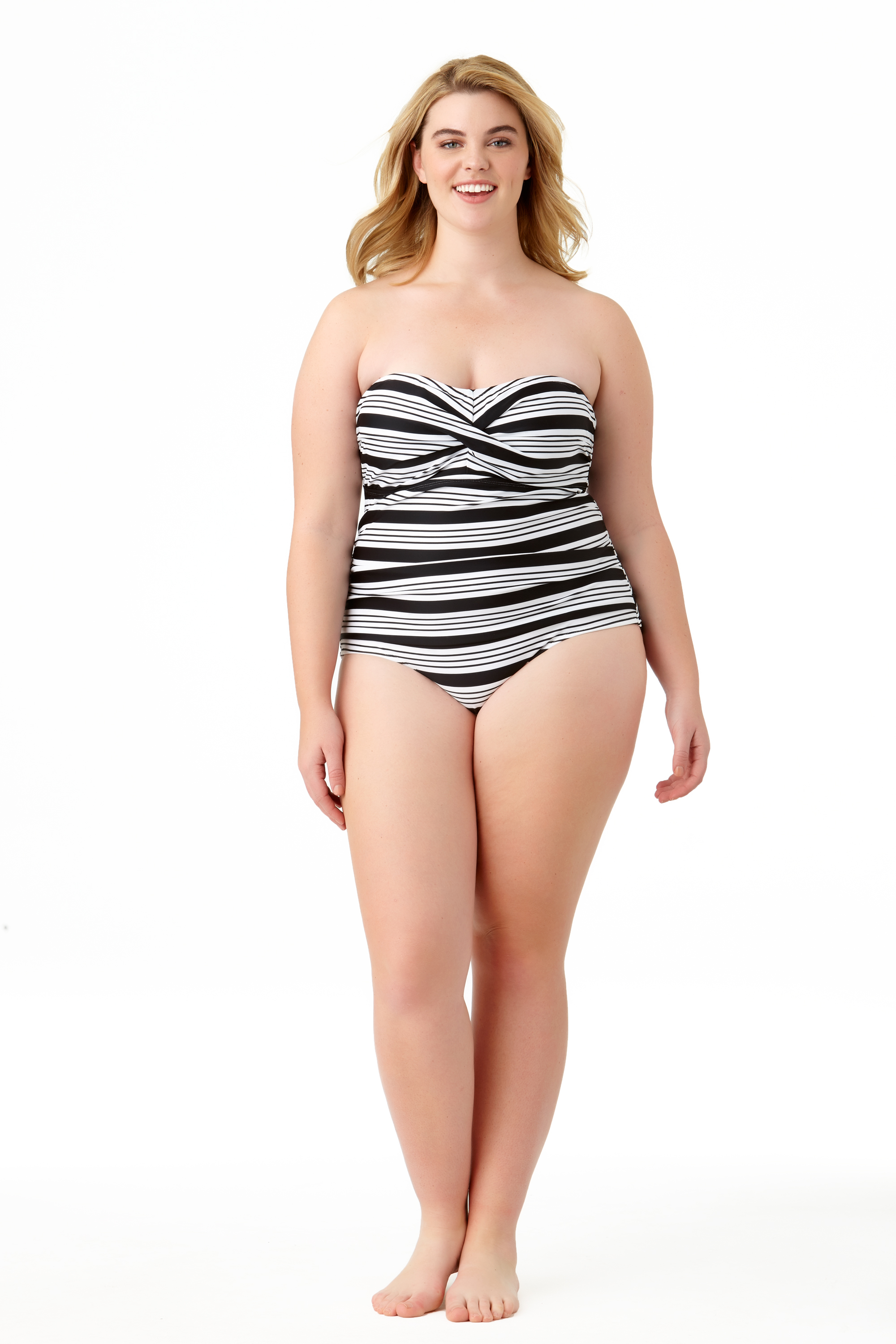 STYLE #CTP27101 - Melbourne Stripe One PieceSOLD OUT