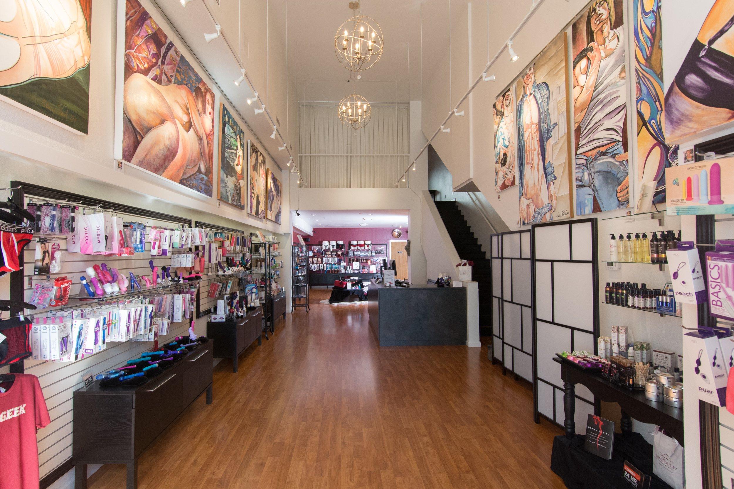 Pure Pleasure Shop, May 2016