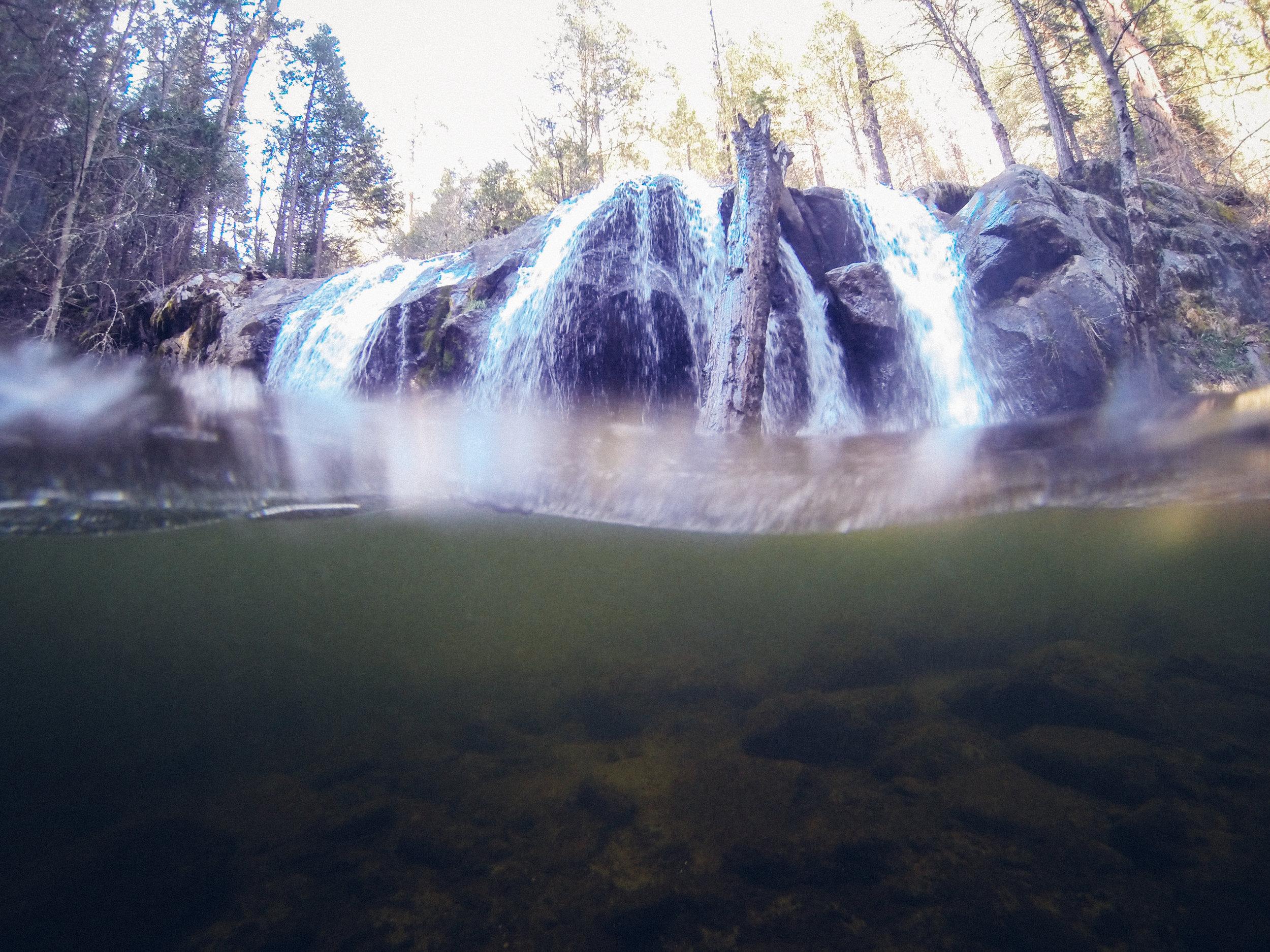 Lewis Creek / Red Rock Falls