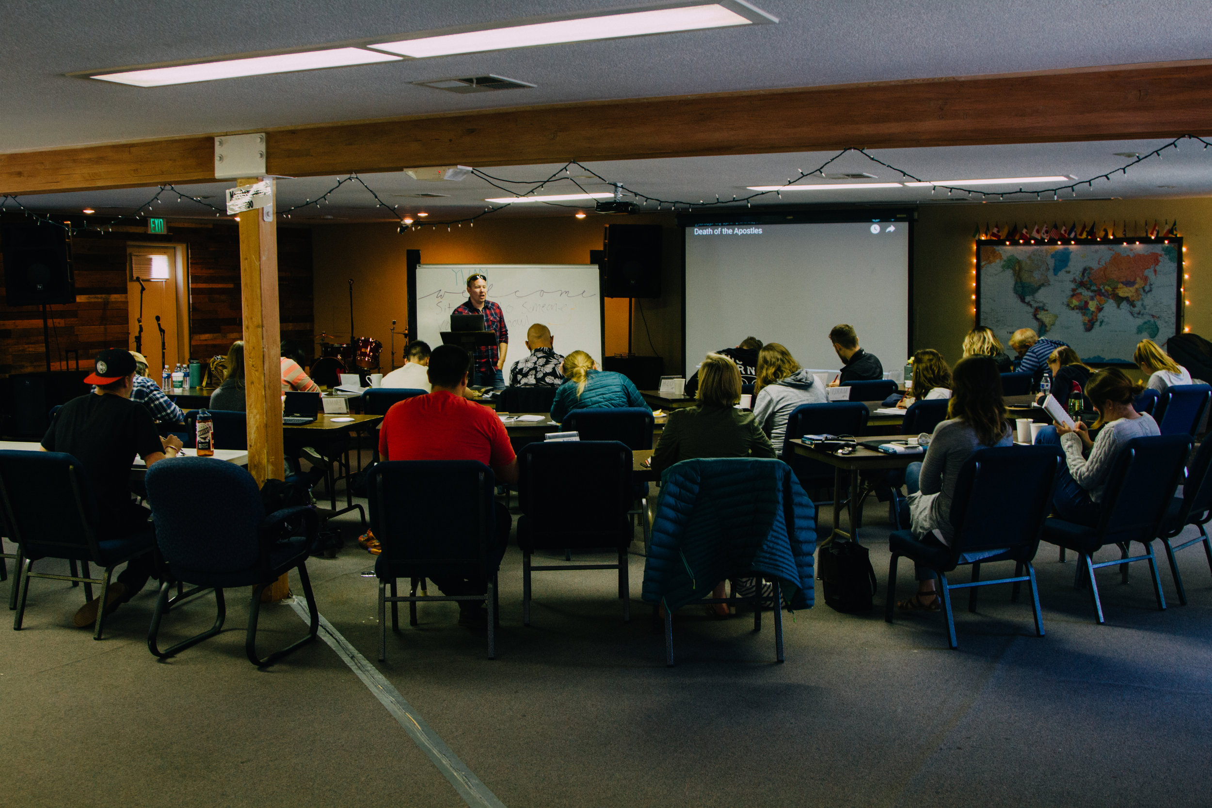Learn from missionaries, pastors, and Bible teachers. -