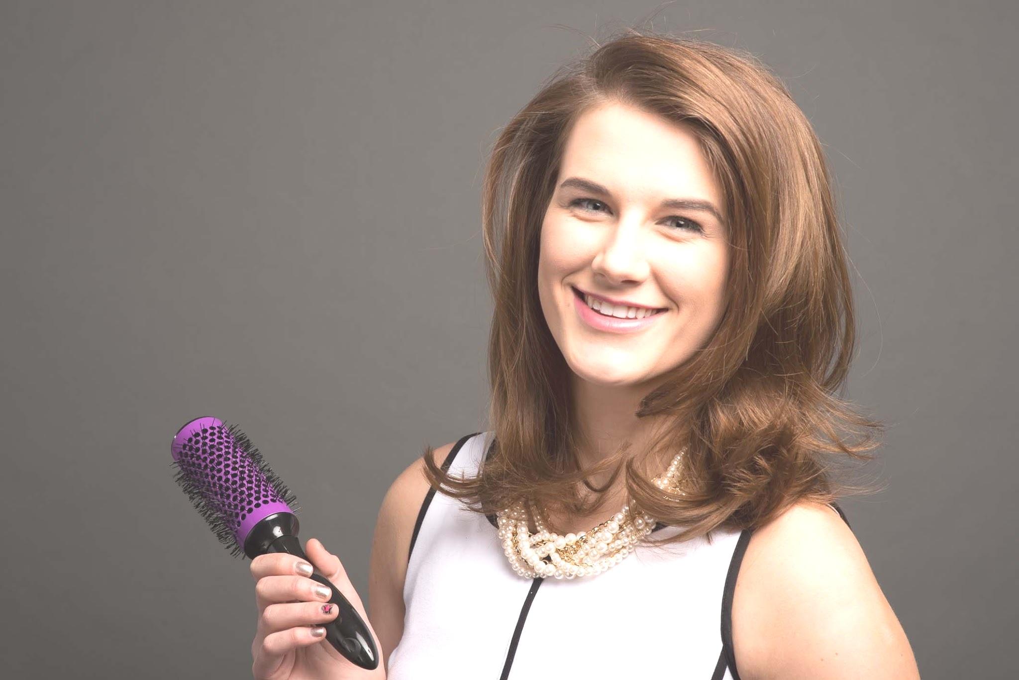 Megan Marketing Assistant Brand Manager Assistant Click n Curl hair model