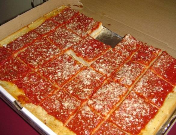 What Is Tomato Pie Anyway Eater Philly Sarcone S Bakery
