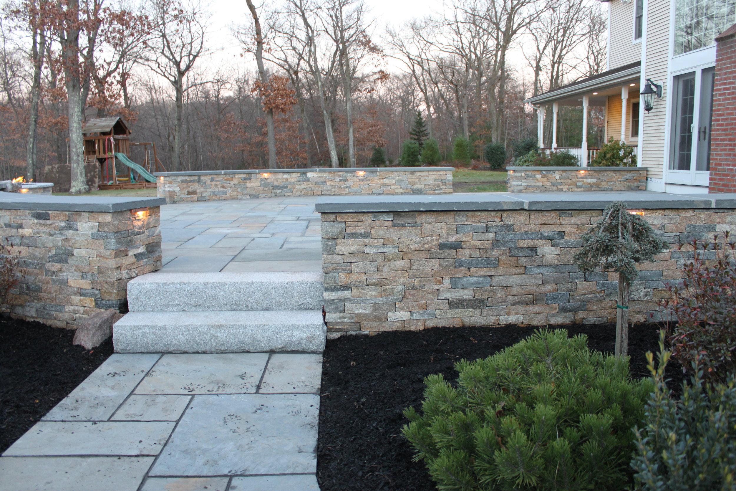 Retaining Walls & Steps -