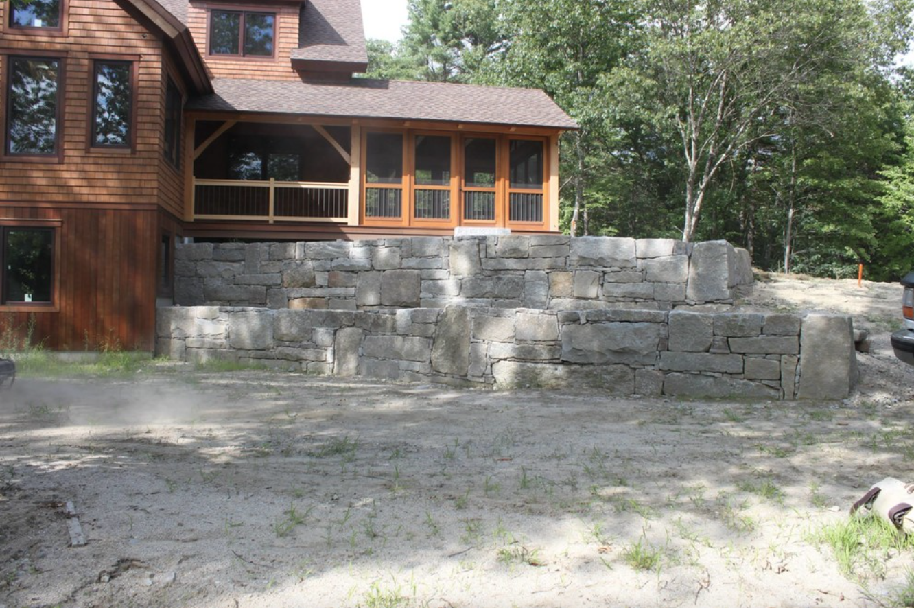 Hollis, NH landscaping services, including masonry