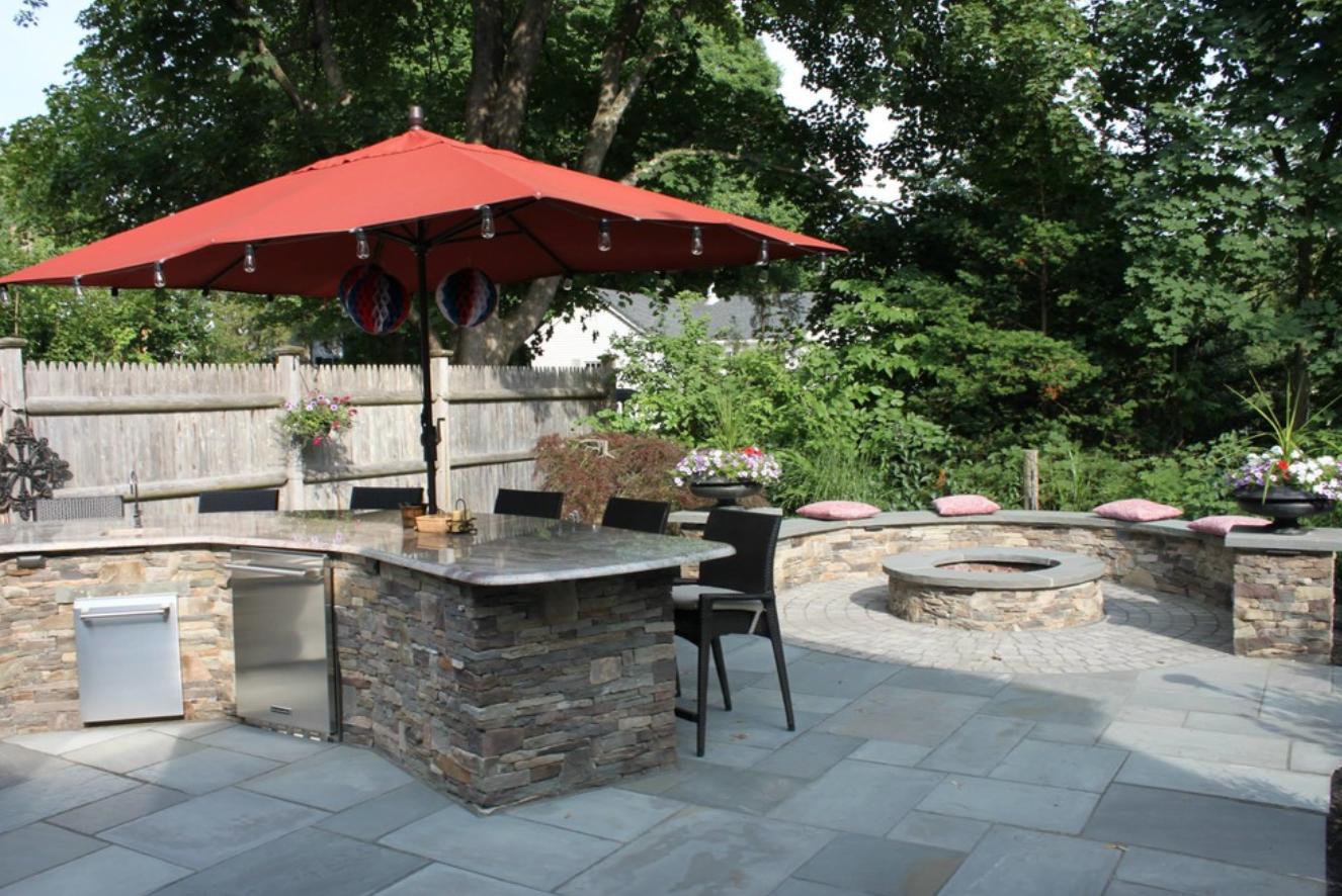 Landscape masonry design | Amherst, NH