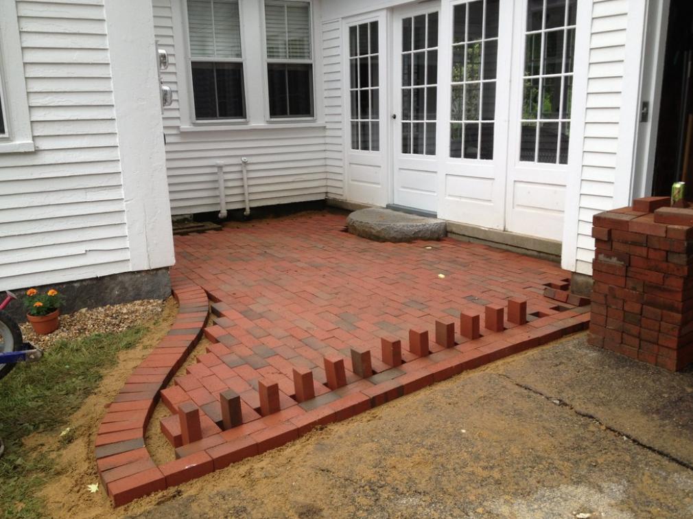 Laconia, NH stunning paver patio installation
