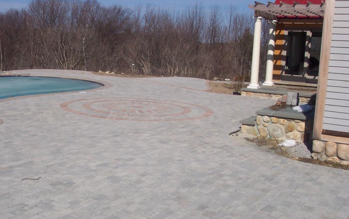 Landscape design and masonry installation in Concord, NH