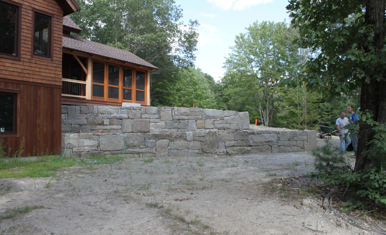 Landscape design and masonry works in Hollis, NH