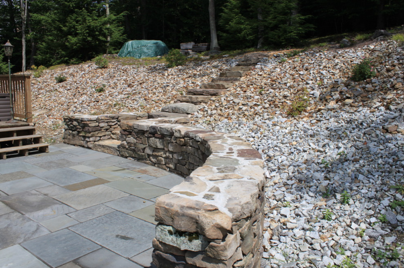 Masonry for retaining walls in Lexington, MA