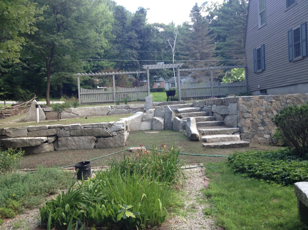 Landscaping services by certified landscaper in Newton, MA