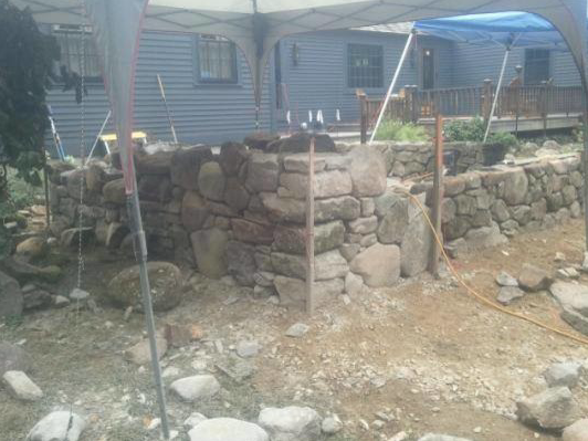 Landscape design and installation in Amherst, NH