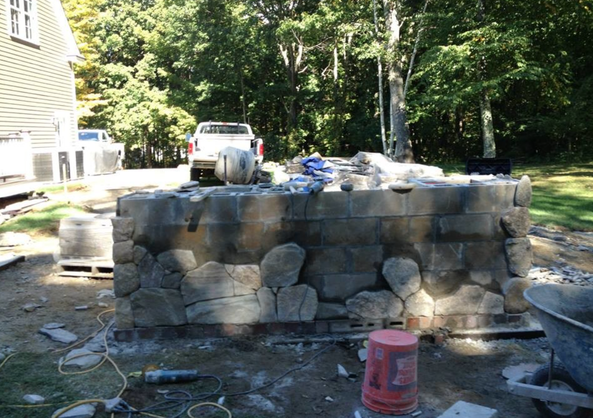 Landscape design and installation in Milford, NH