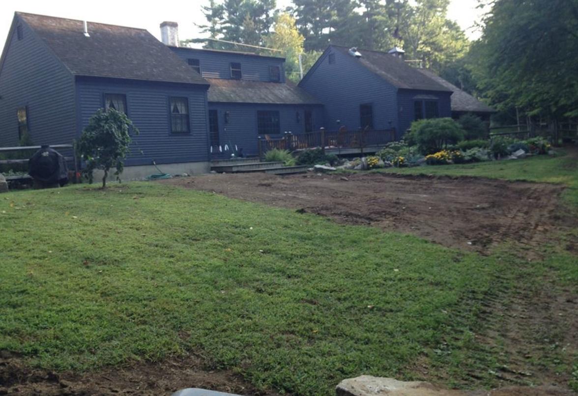 Landscaping services in Amherst, NH, including landscape design