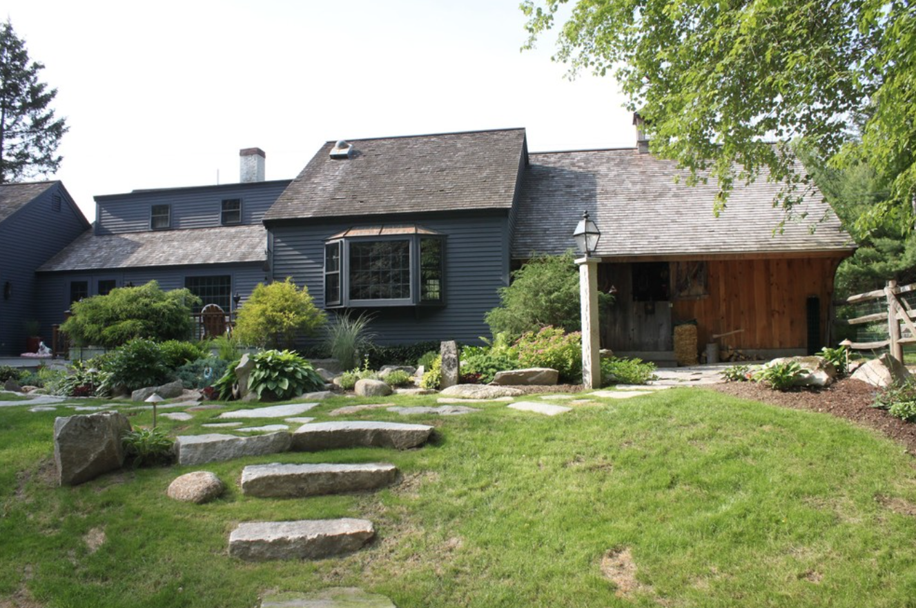 Stunning landscape design in Laconia, NH