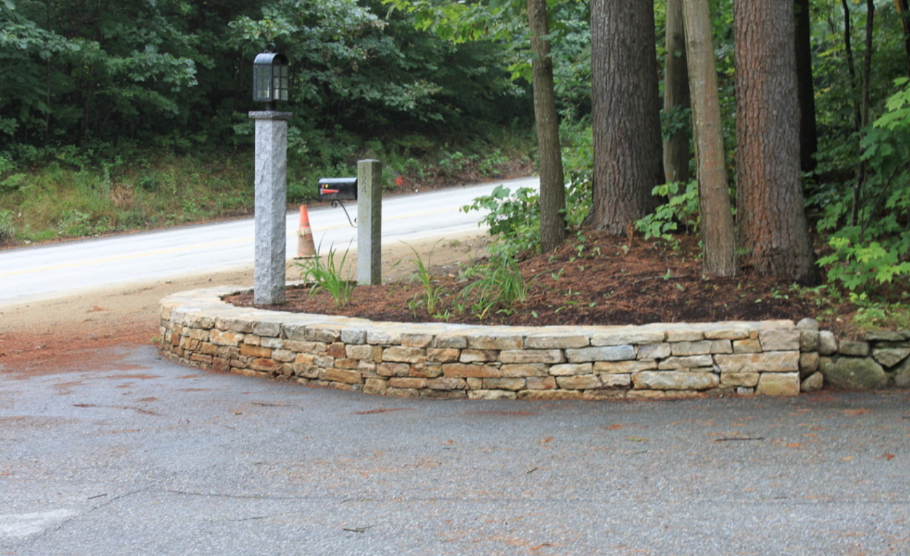 Masonry with natural stone in Milford, NH