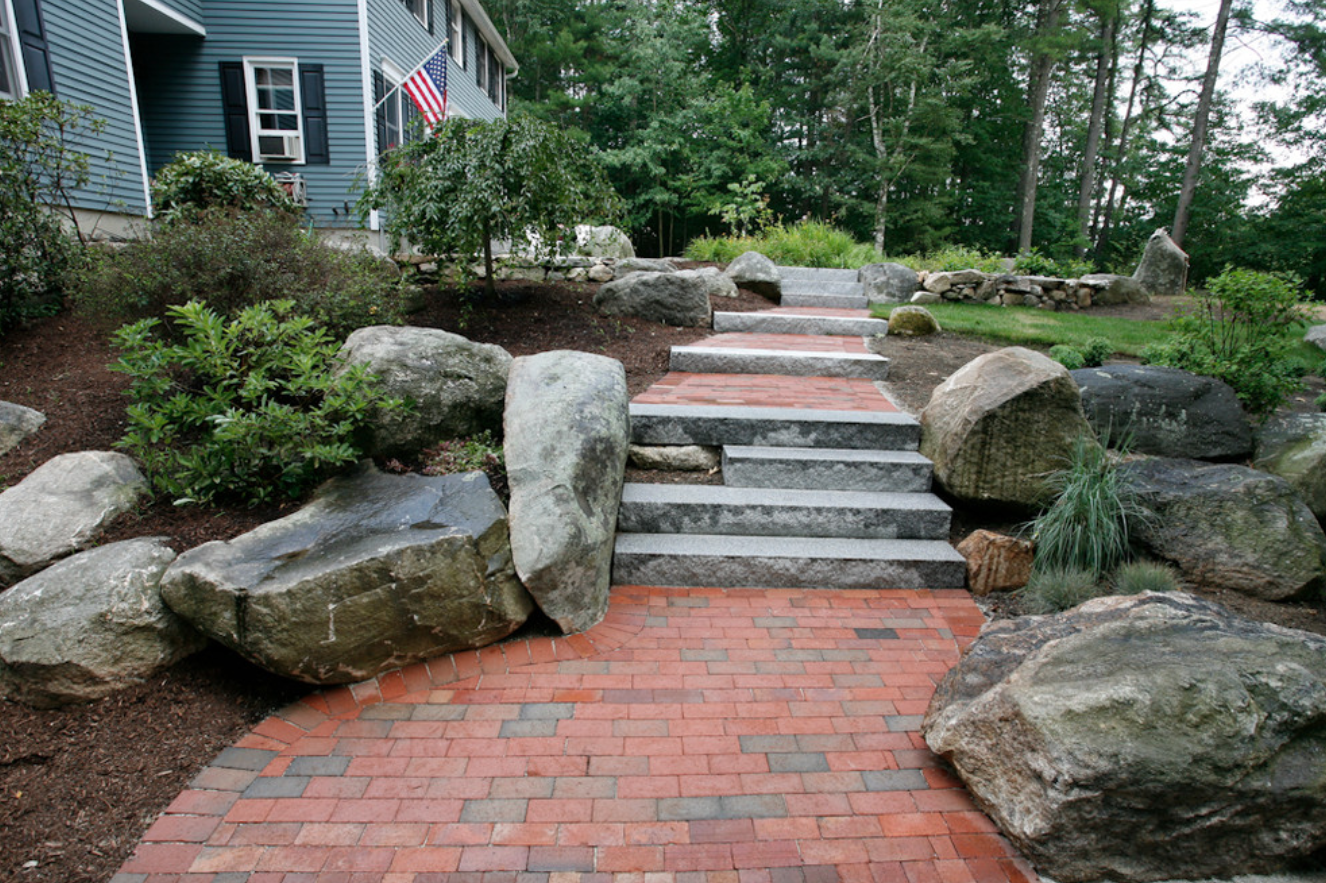 Landscaping services in Milford, NH