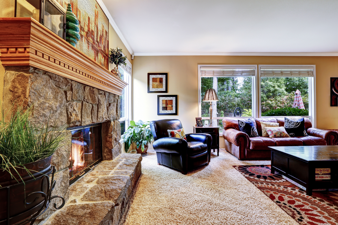 Introducing Stone Veneer into your Living Room in Westford MA