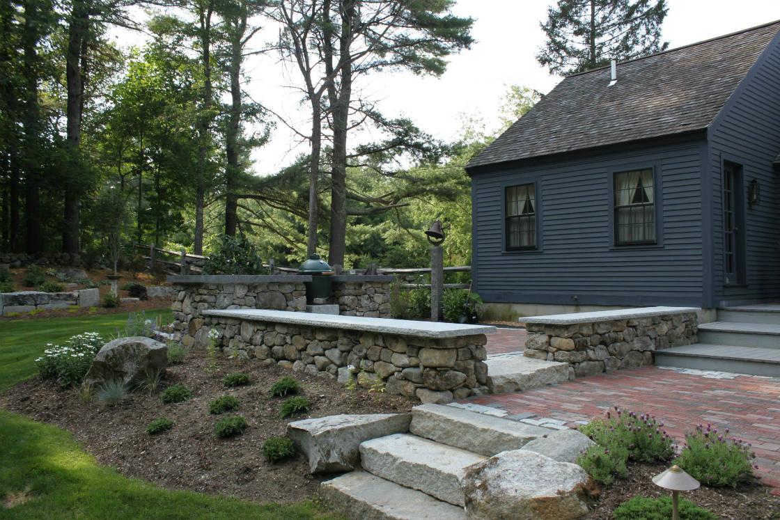 How a Mason can help you achieve a Beautiful Backyard in Hollis, NH