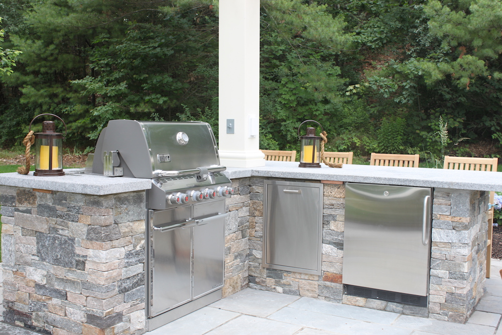 Get Your Outdoor Kitchen Ready for Summer Entertaining in Amherst NH