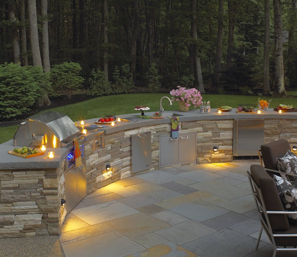 Innovative Outdoor Kitchen Designs For Small Spaces In Newton Ma Northern Lights