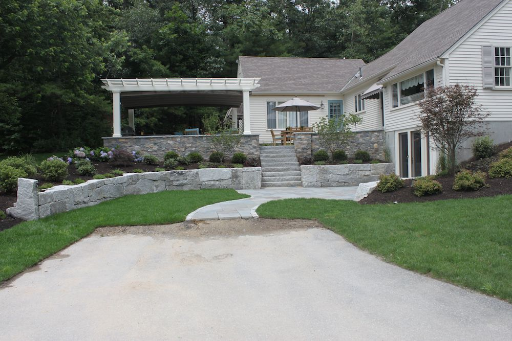 4 Innovative Ways to Utilize Retaining Walls in Your Laconia, NH, Landscape Design