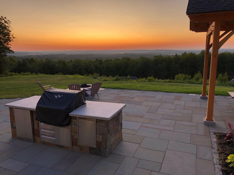 Stunning Outdoor Kitchen Bedford NH