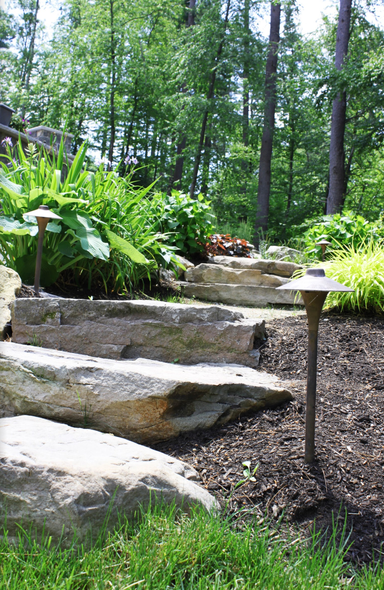 How to Effectively Use Uplighting and Downlighting in Your Landscape Design